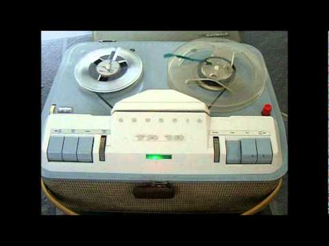 Grundig TK18 Automatic Tape Recorder with the old opera tape