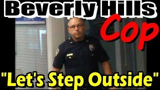 POLICE Fears CAMERA, wants to FIGHT me? Yet they have HAL 9000 cams EVERYWHERE