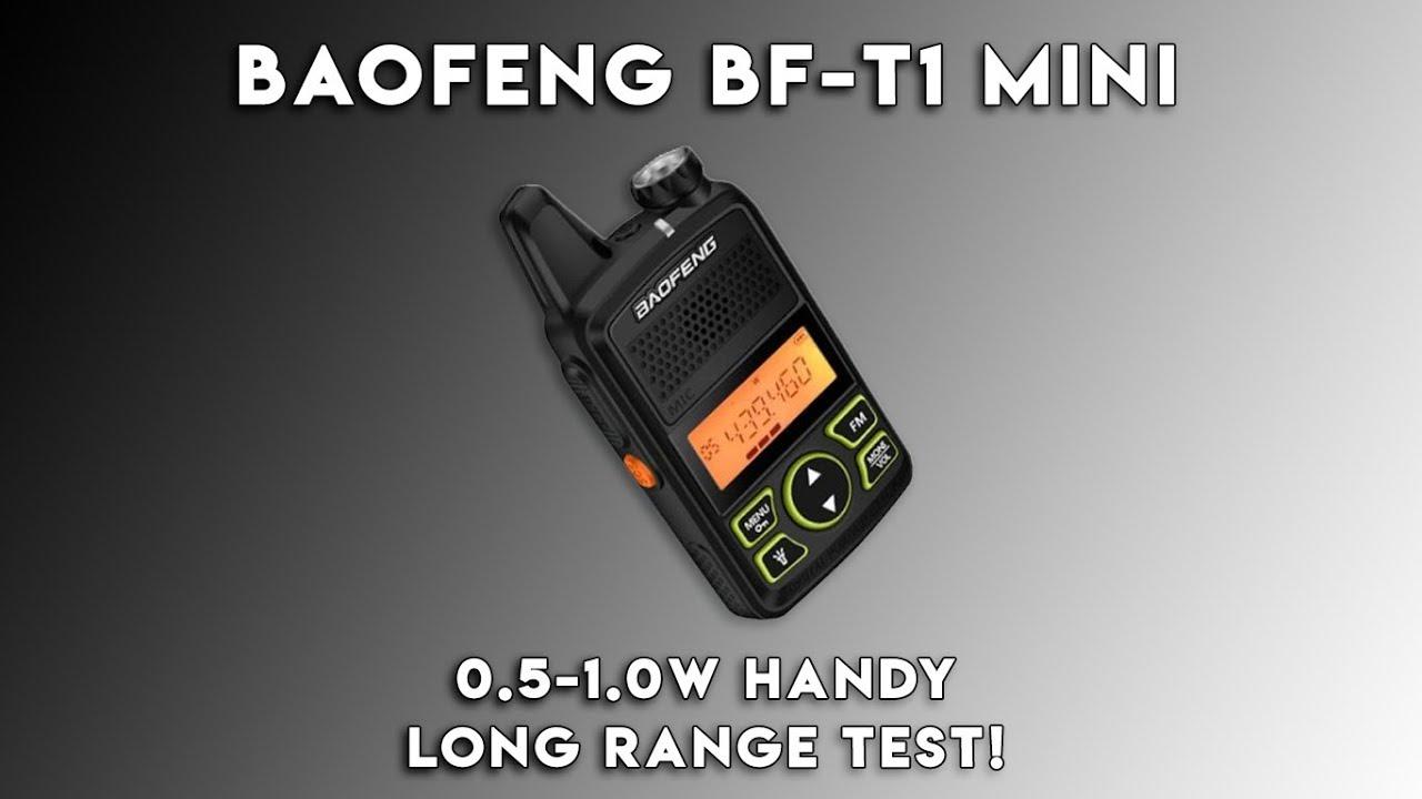 Baofeng BF-T1 Long Range Test | 40+ Kilometres!