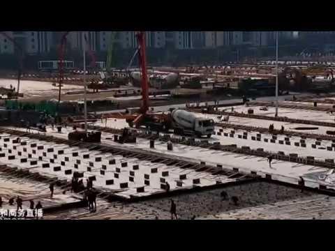 Chinesen Bauen Krankenhaus