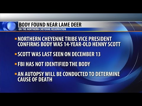 Body found on Northern Cheyenne Reservation near Lame Deer
