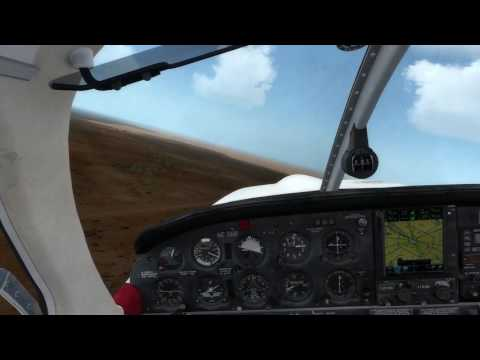 P3D Justflight Piper Arrow at ORBX YBAS