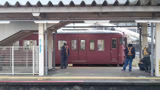 七尾線 413系 津幡駅発車シーン
