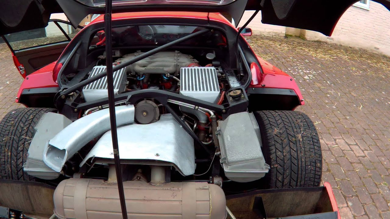 Ferrari F40 Engine - YouTube