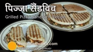 Vegetarian Pizza Sandwich Recipe For Kids