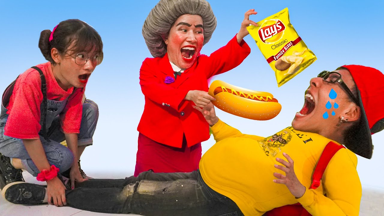 Download Scary Teacher 3D In Real Life : The Diet | Educational story , Nick & Tani and Miss T VS Francis