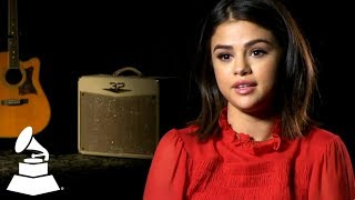 "Selena Gomez on ""Fetish"" Collab w/Gucci Mane | Recording Academy / The GRAMMYs"