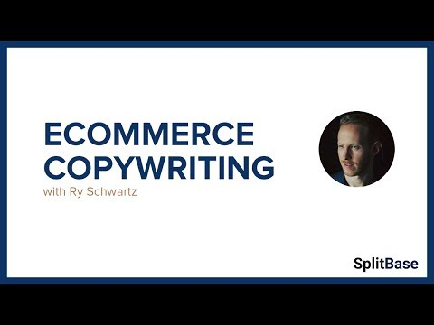 Ecommerce Product Description Copywriting with Ry Schwartz