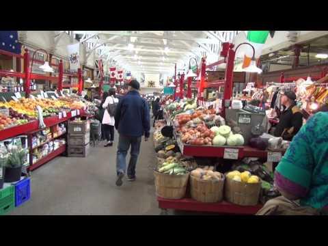 St-John market in NB