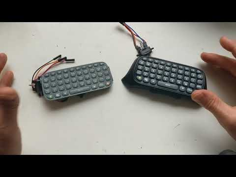 Xbox 360 Chat Pad And The Raspberry Pi