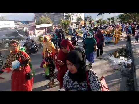 Pawai Budaya Nusantara Anak Usia Dini Tingkat Kota Palu 2017