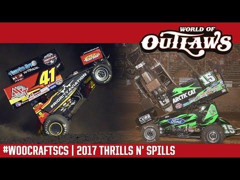 World of Outlaws Craftsman Sprint Car Series | 2017 Thrills N' Spills
