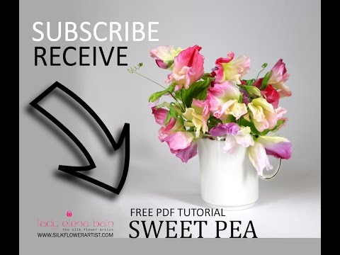Diy silk flowers sweet peas youtube diy silk flowers sweet peas mightylinksfo Gallery