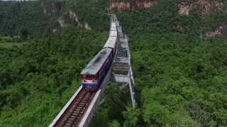 """Trailer 360° - GEO Reportage: """"Myanmar – per Zug durch die Zeit"""""""