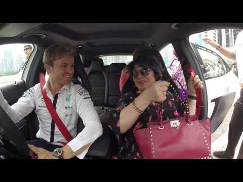 In the hot seat with Jazeman Jaafar & Nico Rosberg