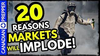 20+ Reasons the Market may CRASH and BURN soon!