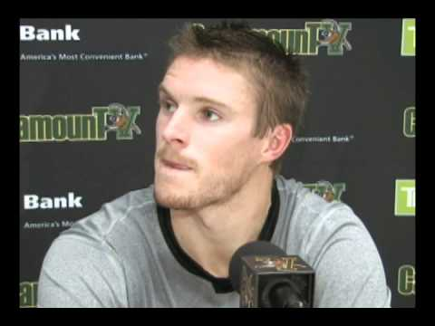 Postgame - Kevan Miller vs. New Brunswick (10/3/10)
