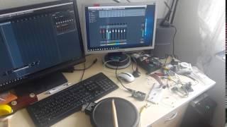 Music Monday – eDrum Trigger Pad to MIDI mit Arduino und Roland PD-8