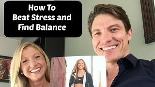 What Does It Take to Beat Stress and Find Balance? Caroline Jordan on the Dr. Larry Burchett Show.