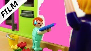 Playmobil Film deutsch EMMA STREICHT LUXUSVILLA PINK - Prinzessinnen Haus | Kinderfilm Familie Vogel