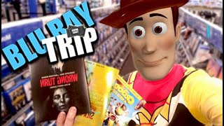 Blu-Ray Hunting as Woody from Toy Story! & AWESOME ARNOLD GOODNESS Fan Mail!!!!