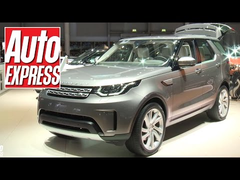 New Land Rover Discovery at Paris 2016: first look at new British SUV