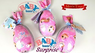 Baby Born Surprise Eggs by Zapf Creation Unboxing and Review.