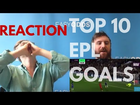 JAKE & ROSS REACT...TO THE TOP 10 PREMIER LEAGUE GOALS 16/17