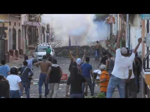 El pueblo esta ENCACHIMBADO en Le�n Nicaragua