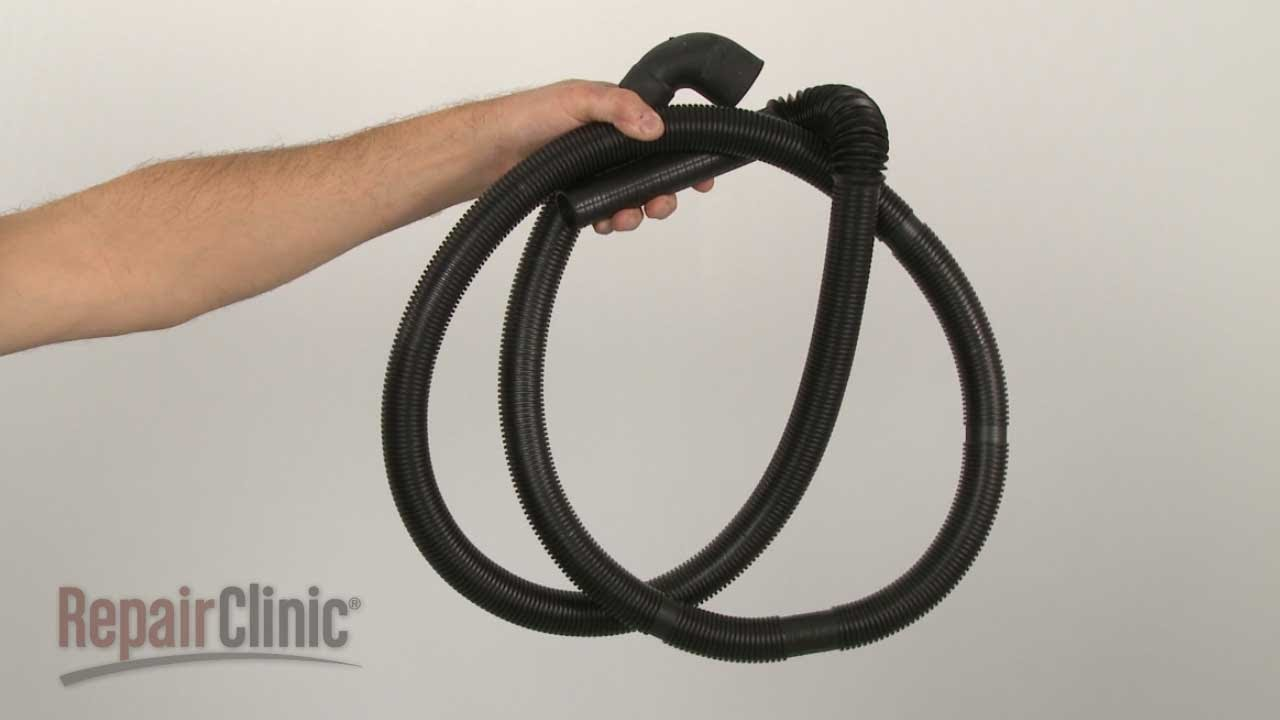 Washing machine drain hose - Item Number 134592700