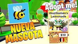 NEW PET 🐝 🍋 LIMONADA AND MORE IN ADOPT ME ROBLOX!