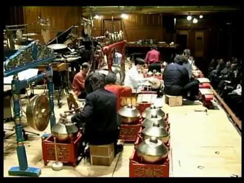 Instruments Indonesian gamelan
