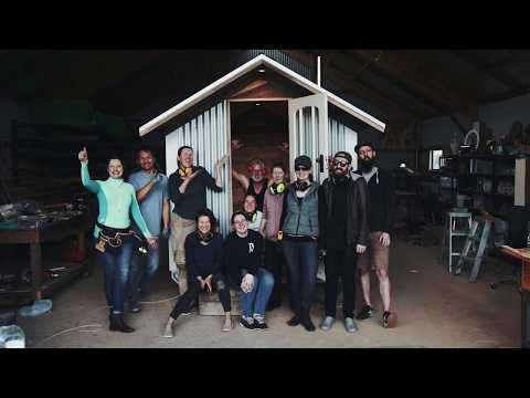 Tiny House Building Workshop at Hollyburton Farm in Melbourne