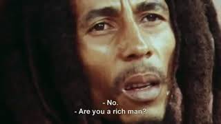 Bob Marley Quote My Riches is Life Forever