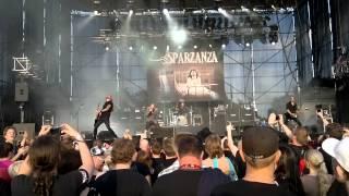 Sparzanza - Crone Of Bell (Live @ Kuopio Rock 2012)
