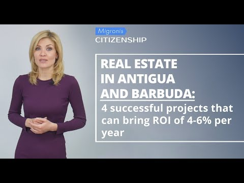 Real estate in Antigua and Barbuda 👉 How to obtain citizenship by investing in real estate?