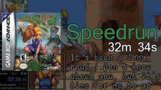 [Speedrun] Lady Sia - Any% (32m 34s)
