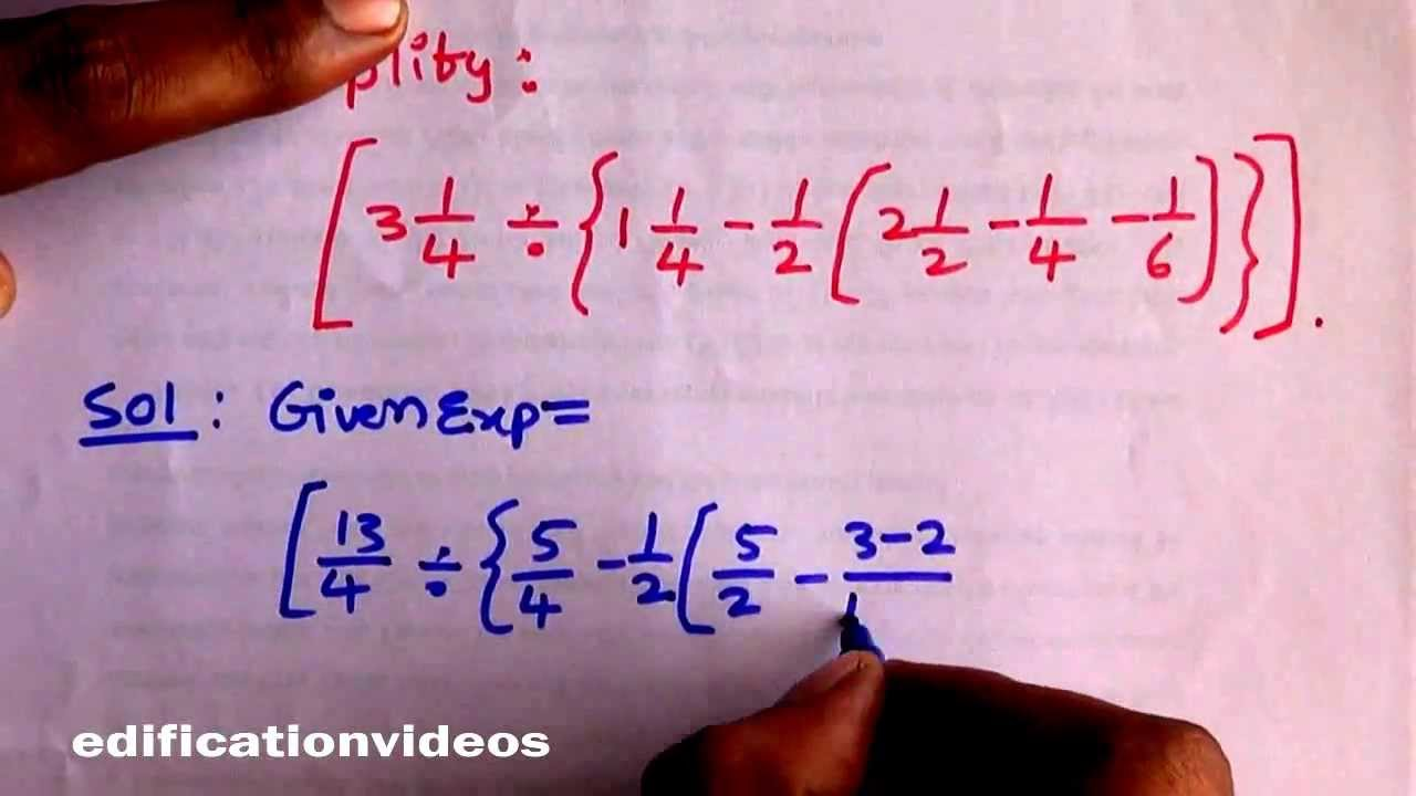 Shortcut Techniques in \'BODMAS\' Rule - Competitive Exams Special ...