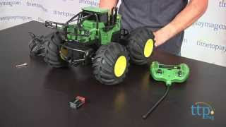 John Deere Monster Treads R/C Tractor from TOMY/Ertl