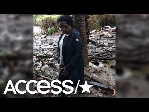 Oprah Hitches A Ride With Rescue Workers To Check On Her Neighbors | Access