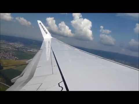 Ryanair - Pushback - Taxi - Take off from Bratislava to Malaga (Part 1)