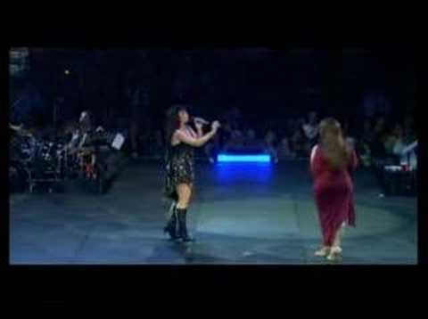 "Olga Tañón y Jenni Rivera ""Cosas del AMor"" Evolution P.R."