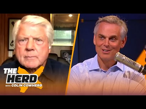 Jimmy Johnson speaks on Jerry Jones not making a deal with Dak, talks Cam & Mahomes | NFL | THE HERD