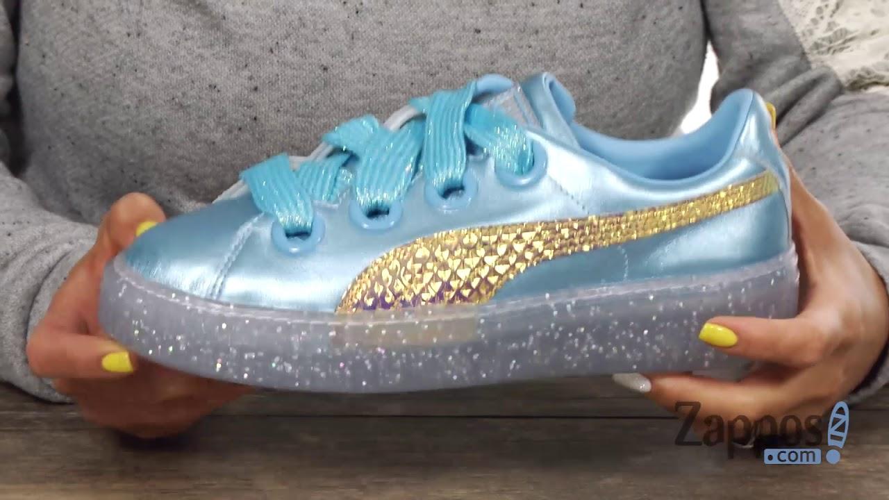 puma platform glitter