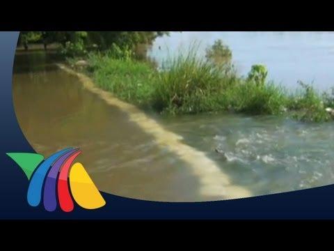 Se desborda el río Pánuco