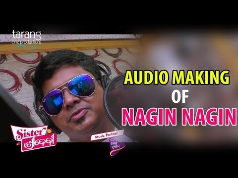 Nagin Nagin Song Audio Making | Sister Sridevi | Odia Film 2017 | Babushan, Sivani | TCP
