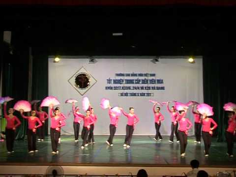 Trường Cao Đẳng Múa Việt Nam- Múa Dân Gian k33/6