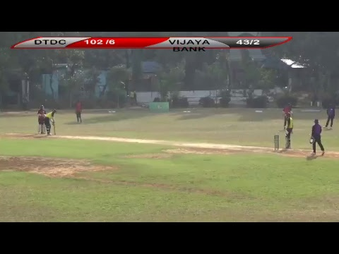 TM Sports Events - Bangalore T10 Bash DTDC vs VIJAYA BANK