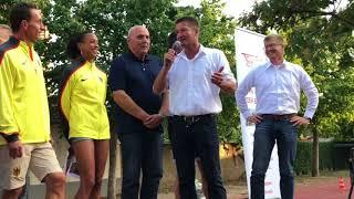 Weitsprung-Europameisterin Malaika Mihambo wird in Oftersheim empfangen