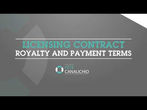 Licensing Contract Royalty and Payment Terms